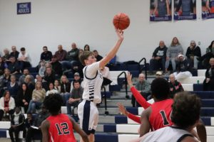 JV Boys Basketball vs. Harvey 12/19/19