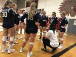 Girls Varsity Volleyball beats Edgewood 3 – 2