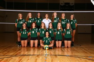 2013 River Bluff Volleyball
