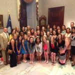 Cheer Champions Have Their Day at State House