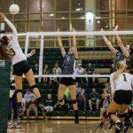 River Bluff High School Girls Varsity Volleyball beat Blythewood High School 3-1
