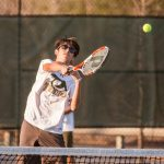 River Bluff High School Boys Varsity Tennis beat Lexington High School 4-3