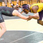 River Bluff High School Varsity Wrestling beat Stratford High School 52-18