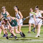 River Bluff High School Girls Varsity Lacrosse beat Lexington High 8-5