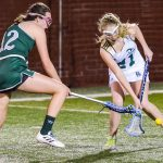 River Bluff High School Girls Varsity Lacrosse beat Ridgeview High 8-6