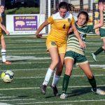 River Bluff High School Girls Varsity Soccer beat Chapin High 2-1