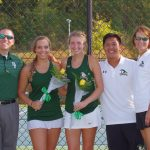 River Bluff Girls Varsity Tennis Celebrates Senior Night with 6-0 Win Over Spring Valley