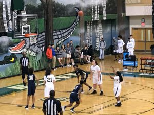 Womens JV Basketball vs Blythewood 1-22-18