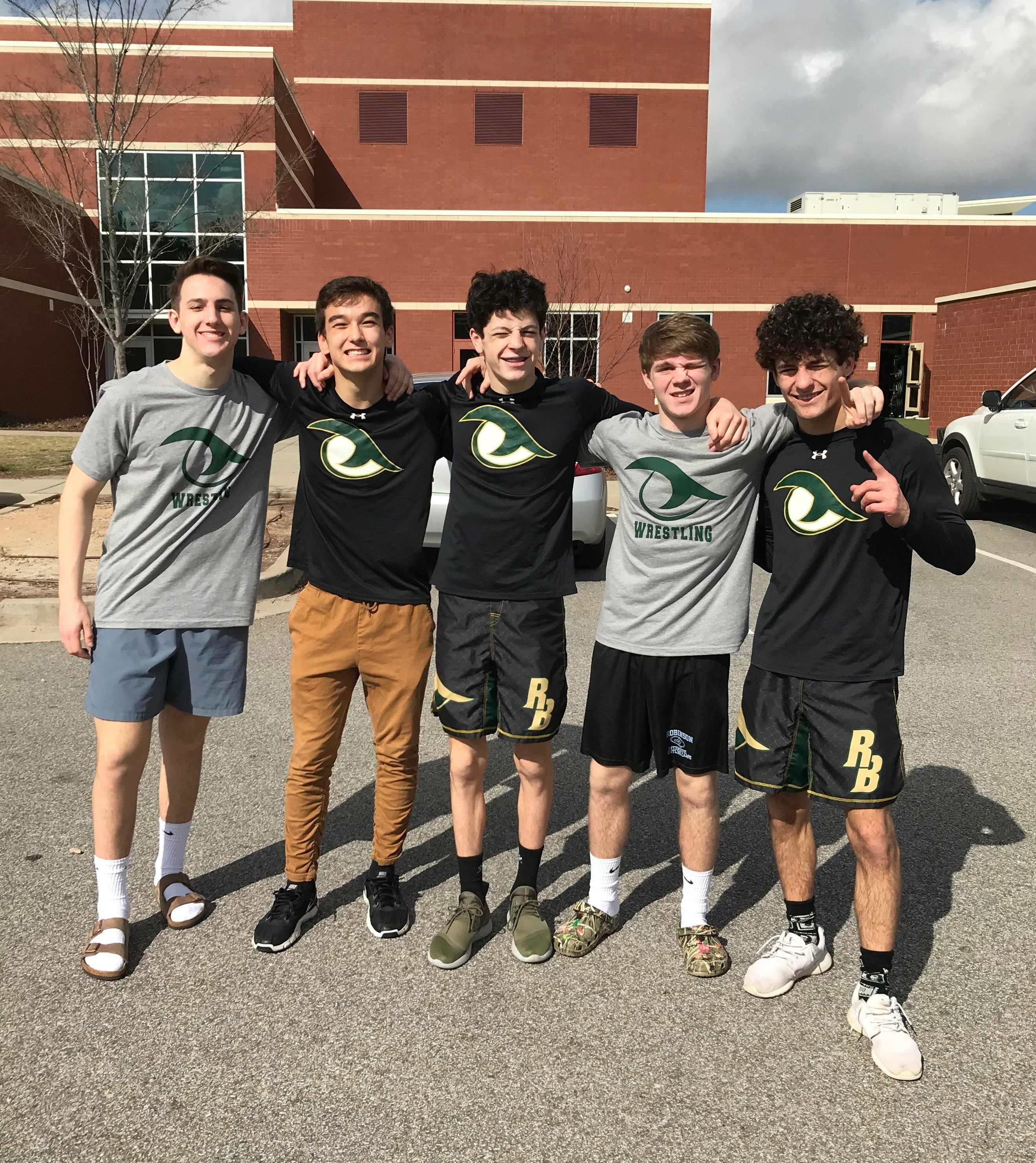 Five Gator Wrestlers Competing for Individual State Championships This Weekend