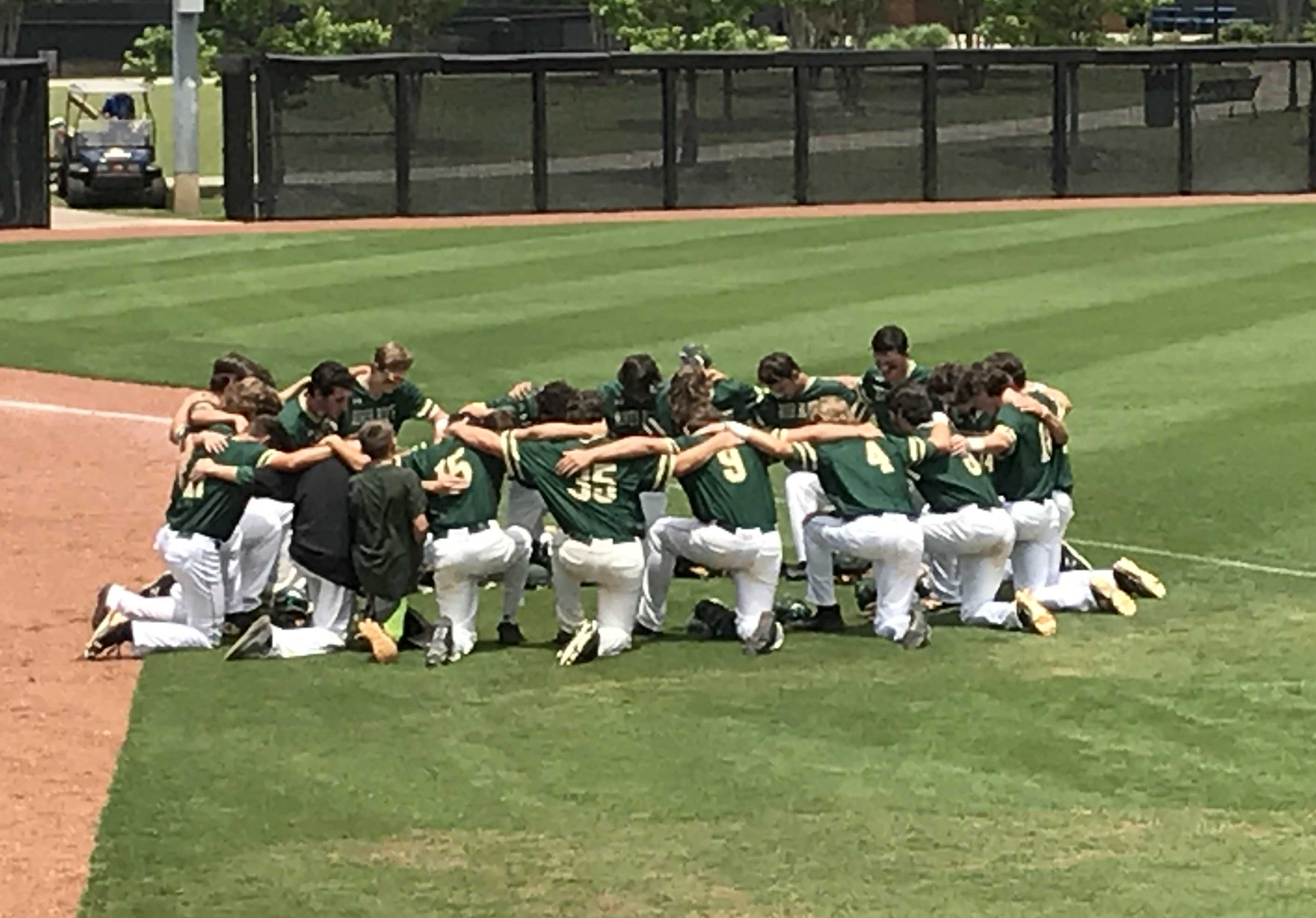 Gators vs Cavaliers in Deciding Game 3 of Baseball State Championship About to Start
