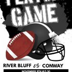It's a Blackout as Gators Host Conway for this Friday's Football Playoff Game