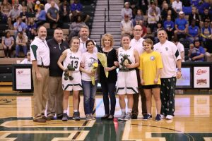Photos – Girls Basketball Senior Night 2-7-19