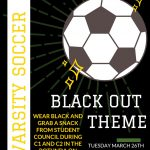 Soccer Teams Take On Lexington This Tuesday – It's a Blackout!