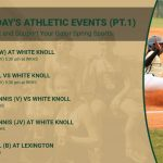 Tuesday's Athletic Events