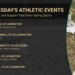 Thursday's Athletic Events