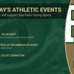 Friday's Athletic Events