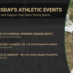 Thursday's RBHS Athletic Events