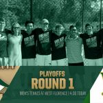 Gator Tennis Travels to West Florence for Round 1 of the SCHSL AAAAA State Playoffs Today