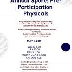 Physicals for Gator Athletes – This Saturday at White Knoll