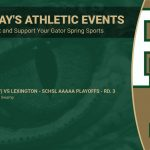 Friday's Gators Athletic Events
