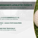 This Weekend's Gators Athletic Events