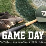 Gator Baseball Game Day! AAAAA Lower State Series Game 2 at RBHS Today at 1pm