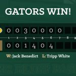 Gator Baseball Blasts Summerville 9-3, Play for Lower State Championship Wednesday