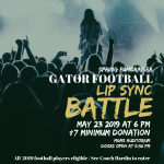 Gator Football Lip Sync Battle | Thursday 5/23 at 6PM | MGMS Auditorium