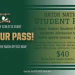 Gator Students – Get Your Student Pass Today!