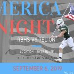 'Merica Night This Friday in The Swamp vs Pelion