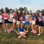 Girls Varsity Golf Splits Tri-Match on Patriot Day