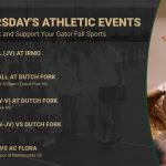 Thursday's Gator Athletic Events