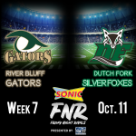 RB-Dutch Fork Football Game is WACH/Sonic Friday Night Rivals Game of the Week