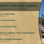 Tuesday's Gator Athletic Events