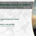 Saturday's Gator Athletic Events