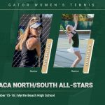 Hollins, Floyd Selected to Play in SCACA North/South Girls Tennis All-Star Classic
