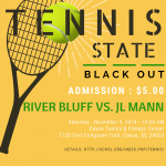 Gator Womens Tennis State Match This Saturday a Black-Out