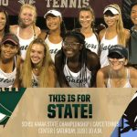 State Championship Day for Gator Womens Tennis!