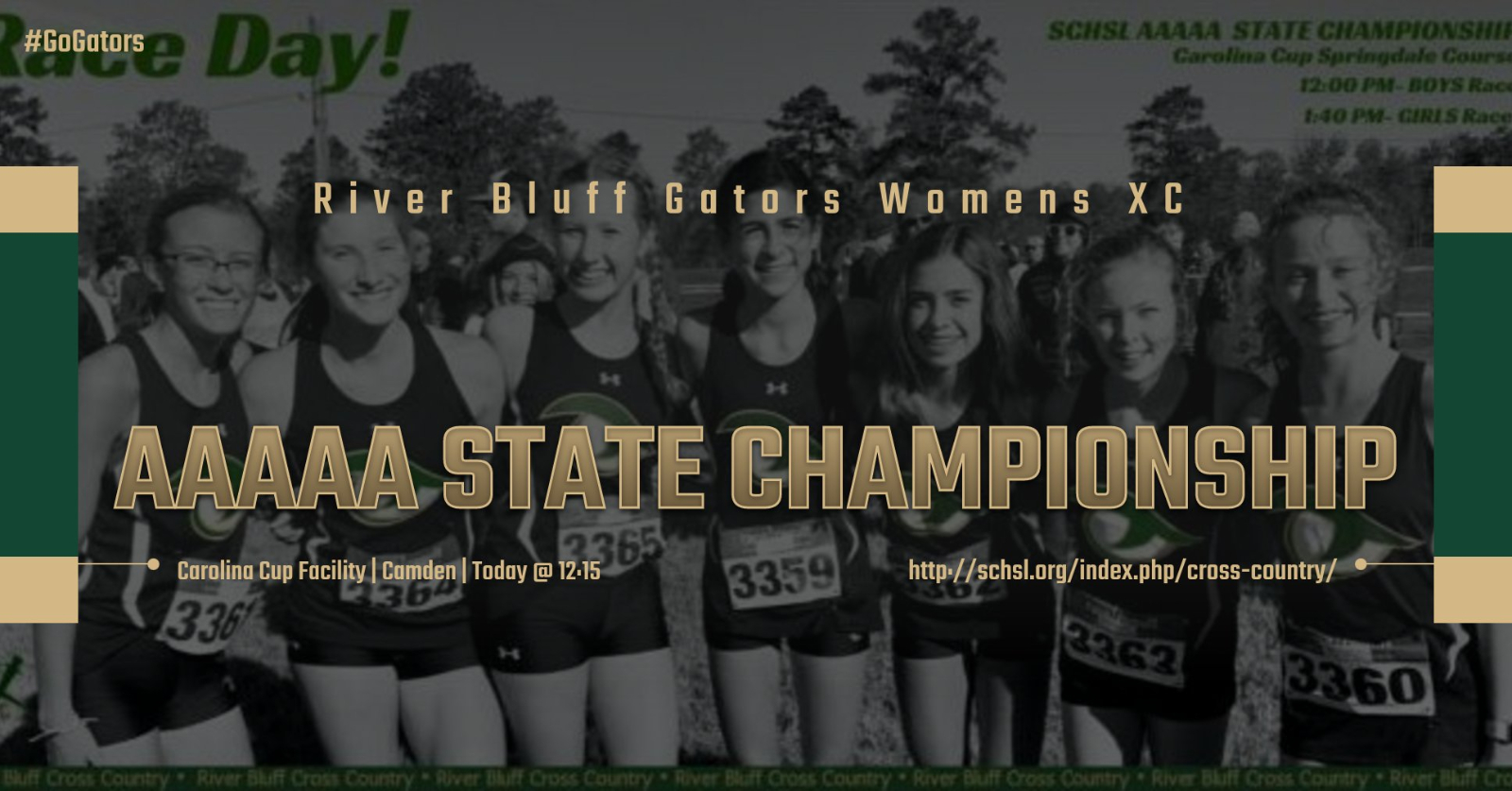 Gator Womens Cross Country Team Competing at AAAAA State Championship Today