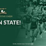 Gator Competitive Cheer Team Brings Home 3rd in AAAAA State Championship