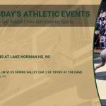 Tuesday's Gator Athletics Events