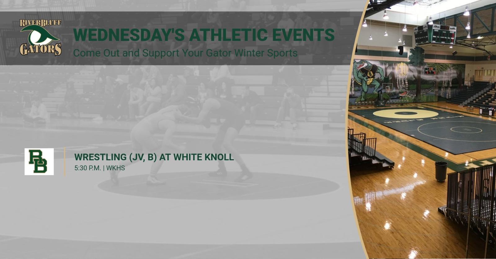 Wednesday's Gator Athletic Events