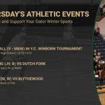 Thursday's Gator Athletic Events
