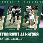 Four Gators Competing in Friday's Metro Bowl All-Star Game
