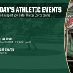 Monday's Gator Athletic Events