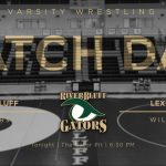 Blackout tonight as Gator Wrestling Takes On Lexington in the Gator Pit