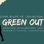 Greenout Theme Thursday Night at Lexington for Varsity Basketball Games