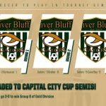Men's Soccer Wins Group B, Advances to Semis of Capital City Cup