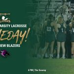 Gameday – Women's Varsity Lacrosse Hosts Ridge View @ 6 PM
