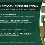 Lex1 Students and Parents – Join Us and Hilinski's Hope For StepUp! on Sunday 2-4 PM